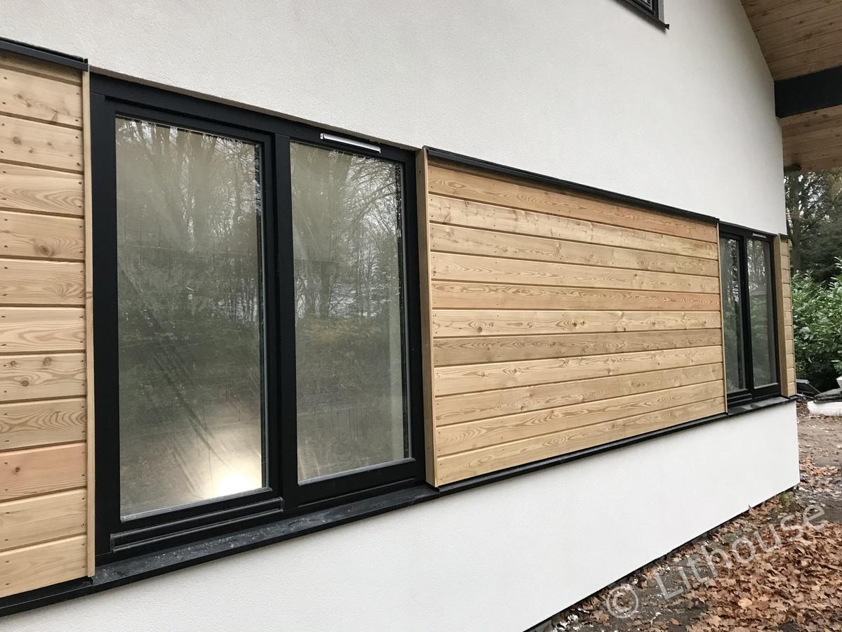 Panel house stucco on outside 02